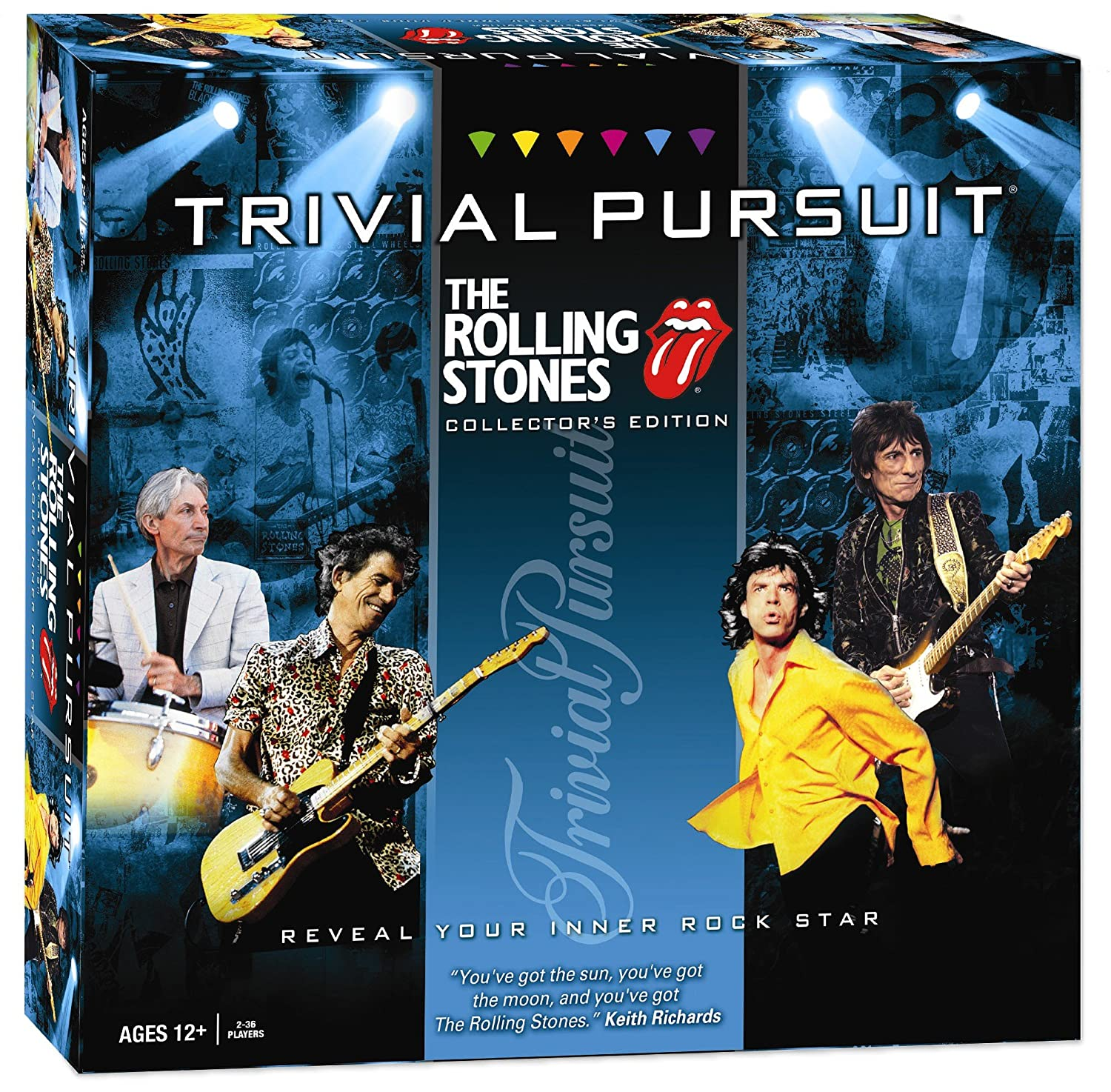 Trivial Pursuit Rolling Stones Board Game B003BMDFTW