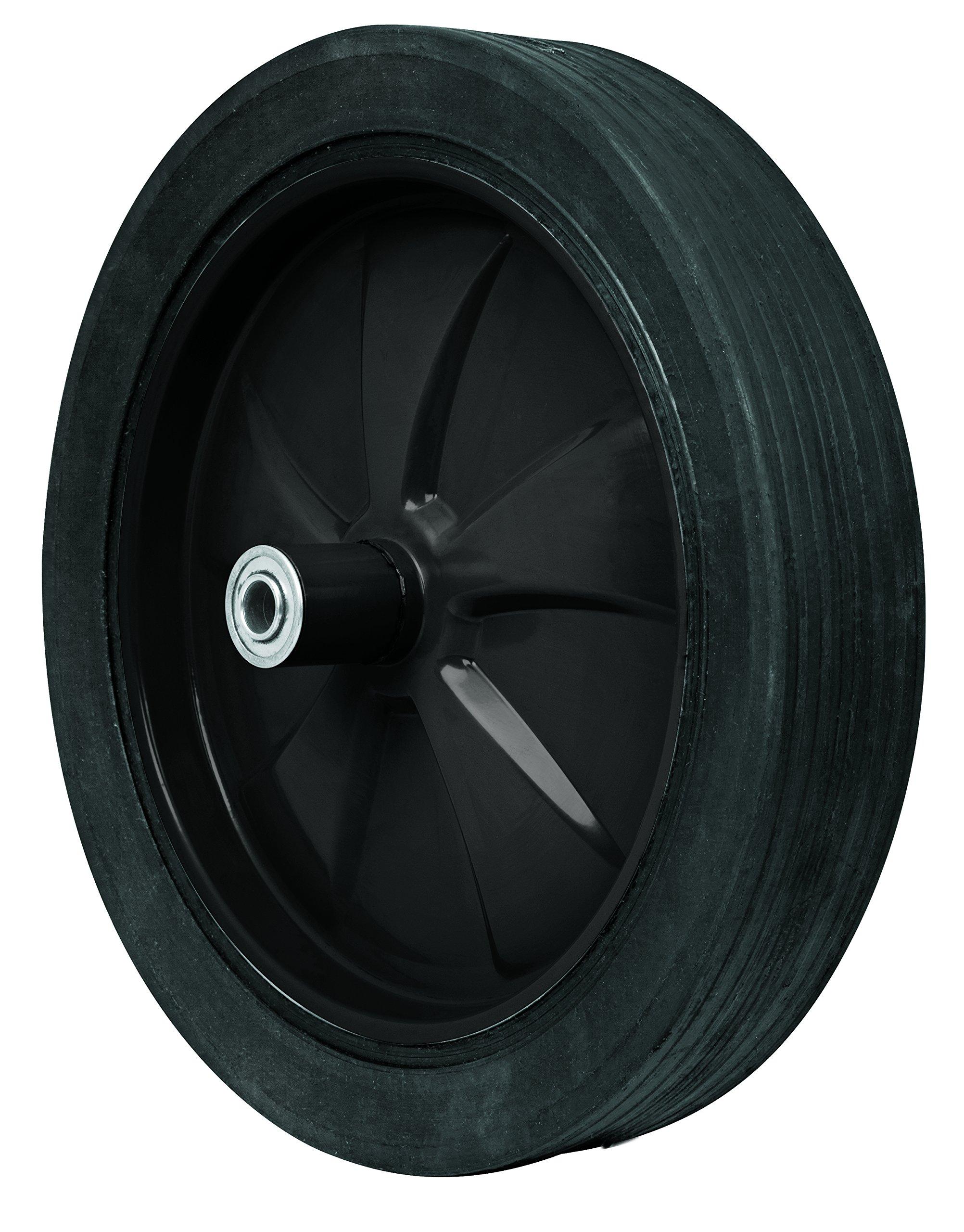 TRUPER RSO Wheelbarrow Tires Solid 14''x 3'' (36x8cm)