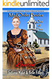 Mail Order Bride: Saving the Twins: Sweet and Inspirational Historical Romance (Mail Order Brides Out of Time Book 4)