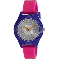 Sonata Color Pop Analog Silver Dial Girls Watch-87024PP02