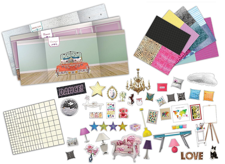 Interior Create Your Dream Room amazon com klutz design your dream room toy toys games