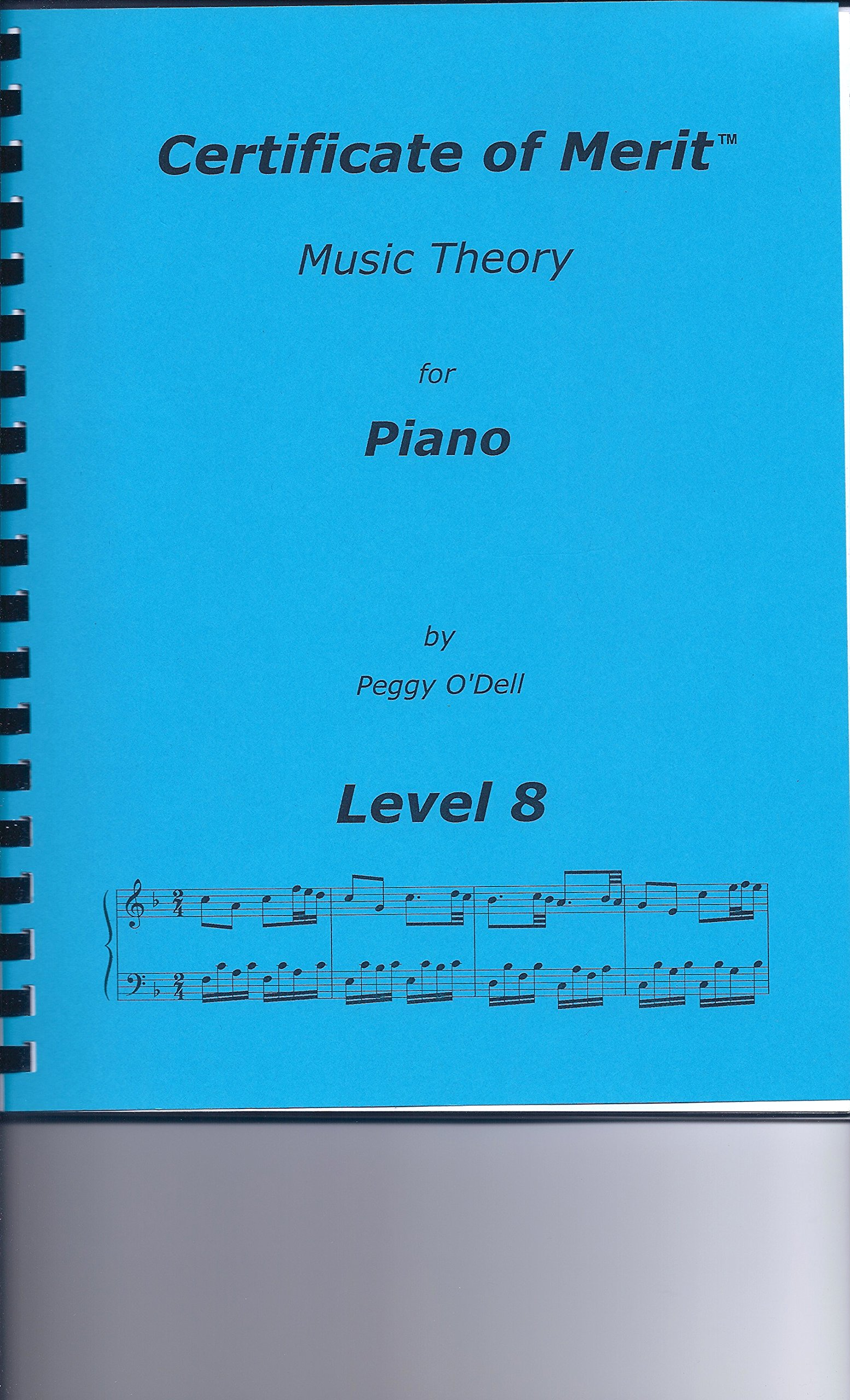 Certificate of Merit Music Theory Level 8: Peggy Odell ...