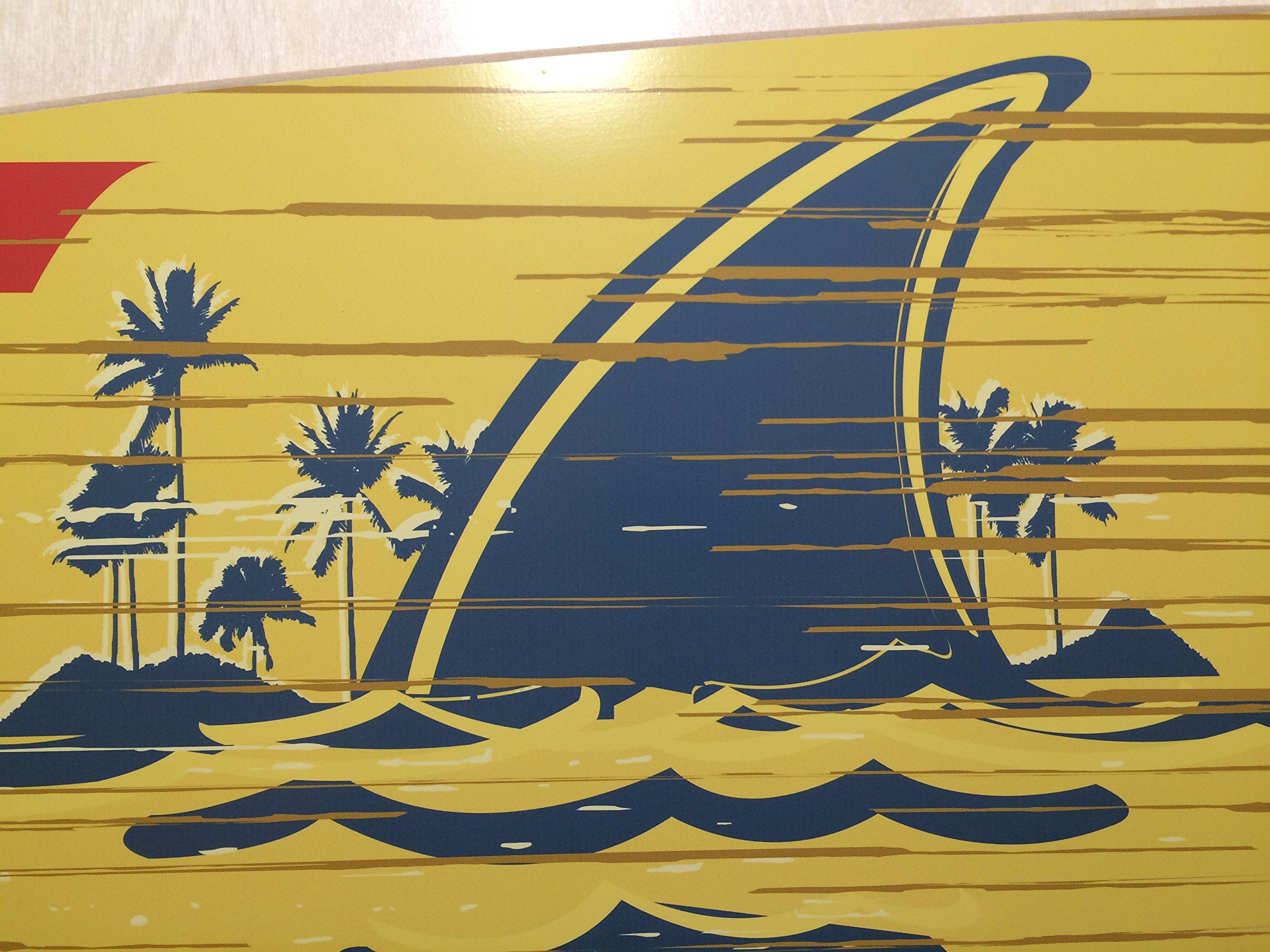 Landshark Lager 6' X 14'' Surfboard Orignal by Land Shark