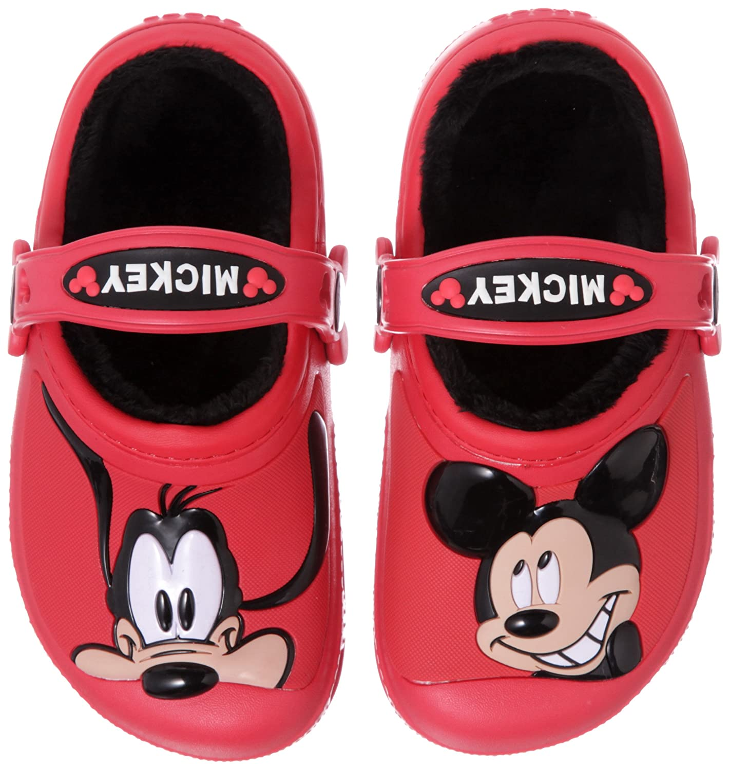 Amazon Crocs Kids Mickey Mouse & Goofy Lined Clog
