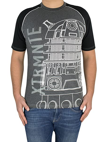 e88596336 Doctor Who Mens' Dr Who Dalek T-Shirt | Amazon.com