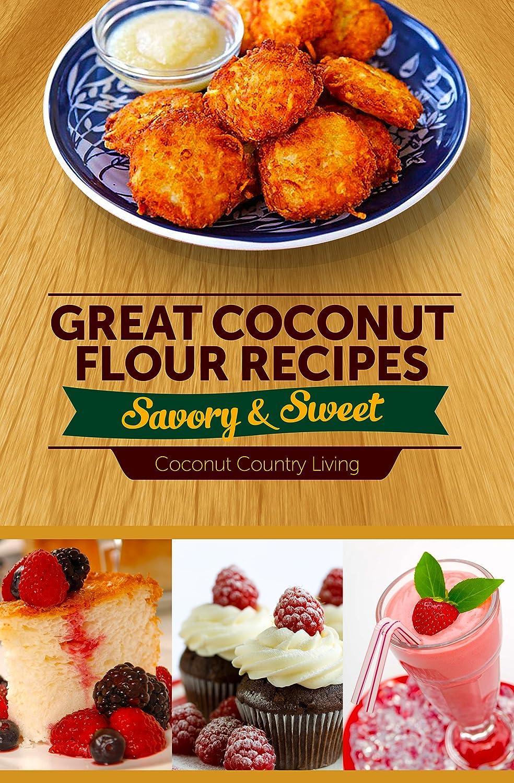 amazon com organic coconut flour 1 16 lb w gluten free recipe