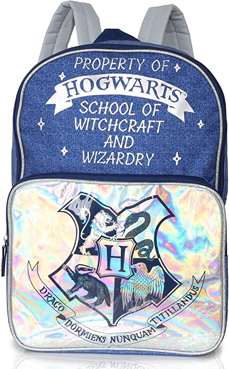 Harry Potter Bolsa para Mujer Y Adolescentes | Mochilas con Impresión De Estilo Vaquero | Amplia Mochila para La Escuela, Trabajo, Viajes | Harry Potter Regalos para Ella: Amazon.es: Ropa y accesorios