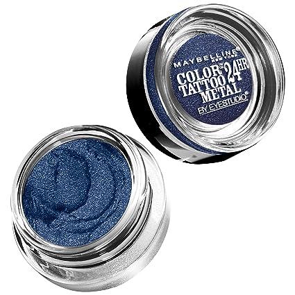 Maybelline Color Tattoo 24hr Eyeshadow 4g - 75 Electric Blue ...