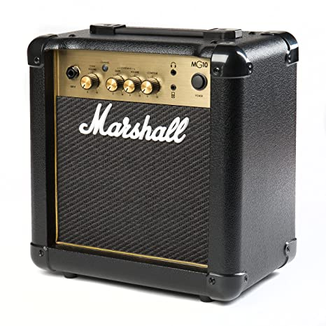 Marshall MG4 Gold Series MG10 G 10-Watt Guitar Combo Amplifier Latest Version with 2 Channels Combo Guitar Amplifiers at amazon