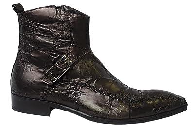 fdbf2ad1da8bf Amazon.com | Roberto Guerrini 2710 Italian Mens Brown Ankle Boots ...