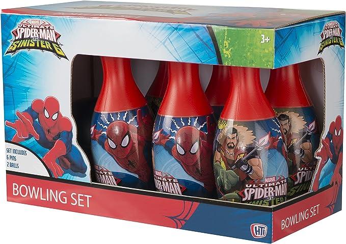 Spider-Man Juego de Bolos: Amazon.es: Juguetes y juegos