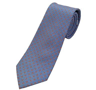 Corbatas de hombre - Corbatas de hombre originales - Corbata azul ...