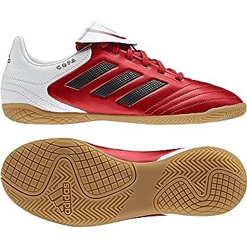adidas Copa 17.4 IN J - Zapatillas fútbol Sala para niños, Rojo - (Rojo/FTWBLA/Negbas), -33: Amazon.es: Deportes y aire libre