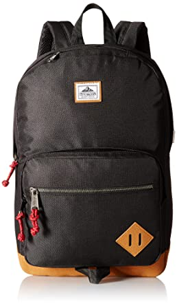1f3430a396 Steve Madden Men's Solid Nylon Classic Backpack, Deep Black, One Size