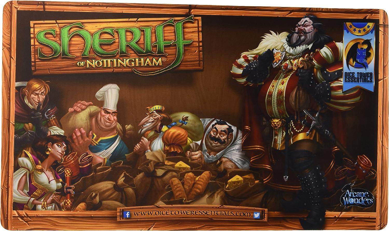 Arcane Wonders Juego de Cartas coleccionables ARW0SNPM Sheriff of Nottingham Playmat: Amazon.es: Juguetes y juegos
