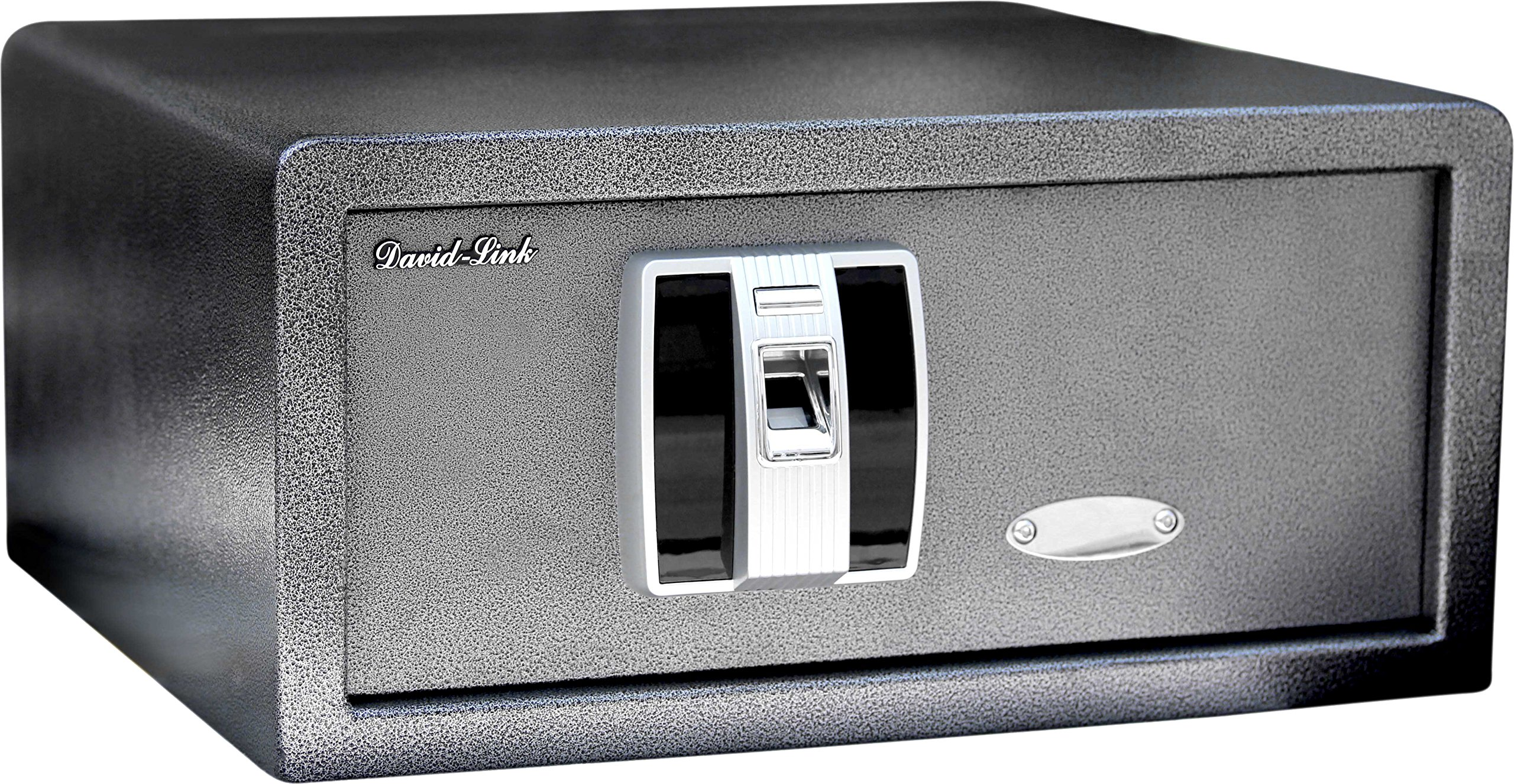 David-Link BioSec-H1 Biometric Electronic Home Safe, 8'' Height x 15'' Length x 16.5'' Width, Carbon by David-Link