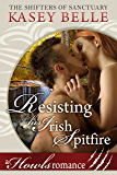 Resisting His Irish Spitfire: A Howls Romance (Shifters of Sanctuary Book 1)