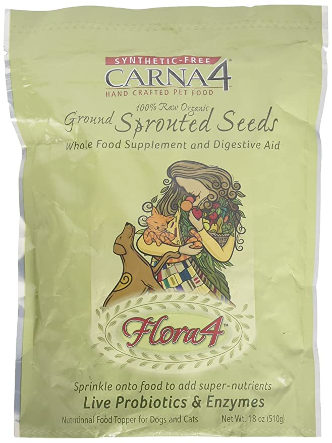 Amazon.com: carna4 flora4 Raw Topper de alimentos, 18oz ...