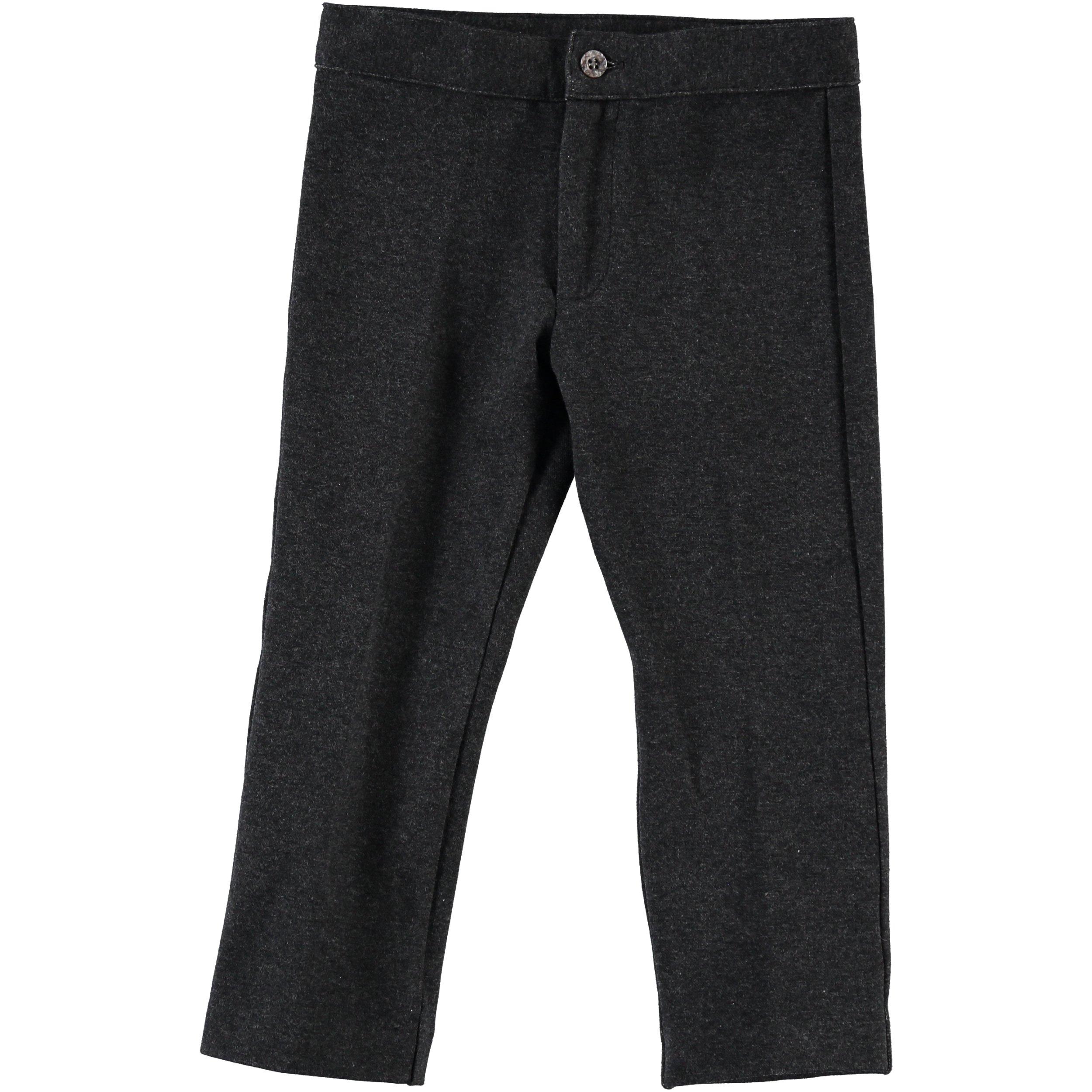 Piccino Piccina Boys Grey Dress Pants- w/o Pockets