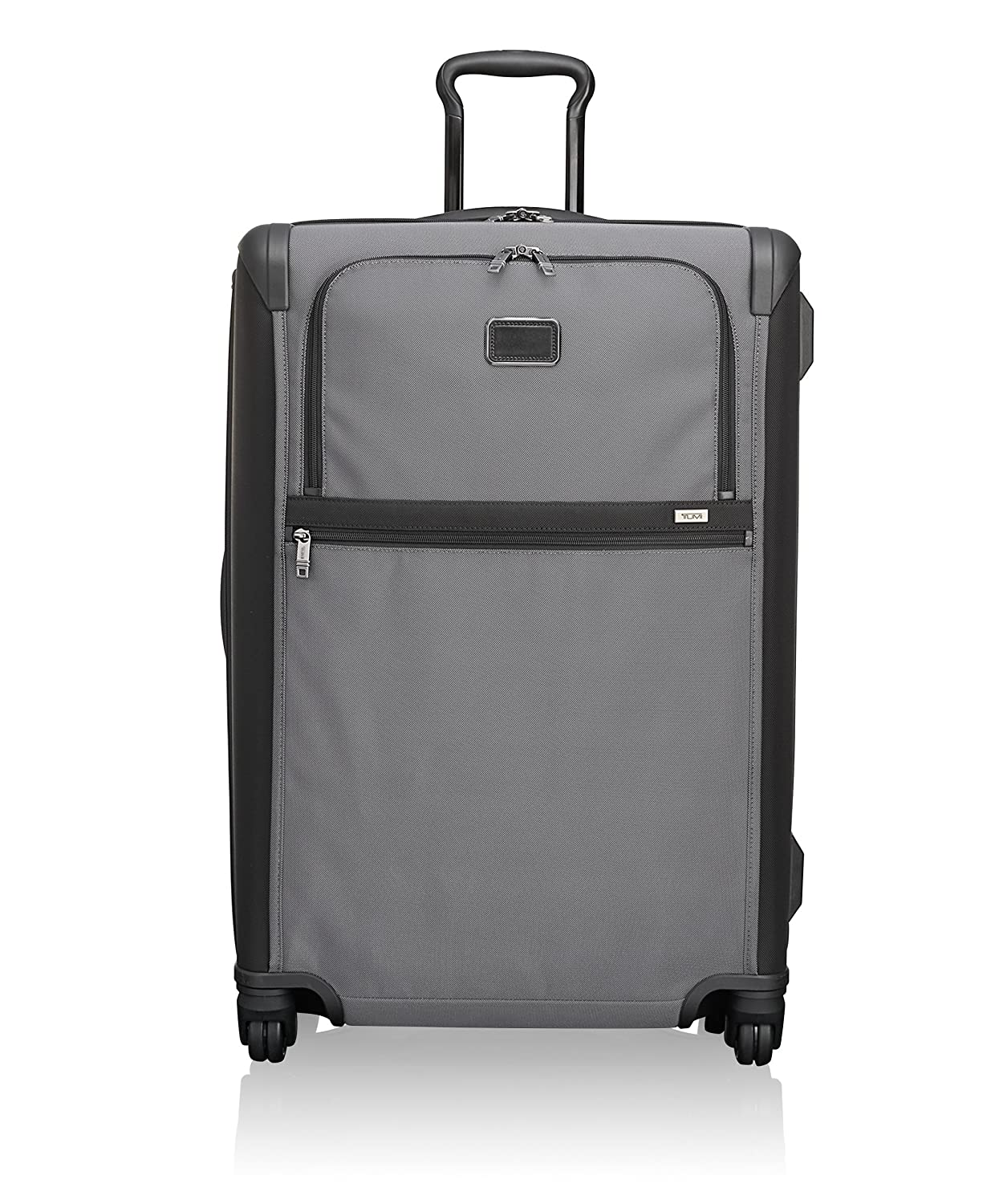 2f3dc3fed3b4 Tumi Alpha 2 Medium Trip Expandable 4 Wheeled Packing Case Suitcase-Rolling  Luggage for Men and Women, Pewter