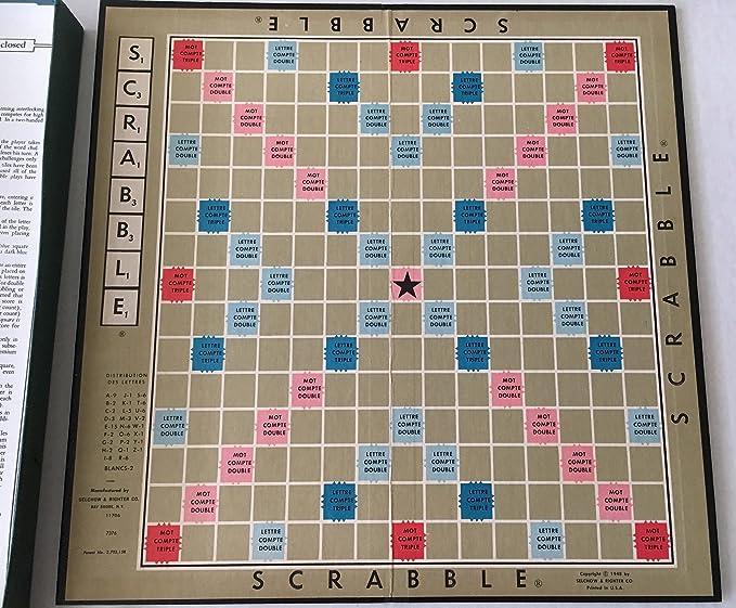 SCRABBLE Juego de crucigramas, edición extranjera, francés: Amazon.es: Juguetes y juegos