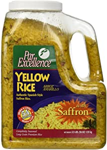 Par Excellence Producers Yellow Rice, 3.5 lb.