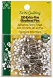 Dritz 3004 Extra-Fine Glass Head Pins, 1-3/8-Inch
