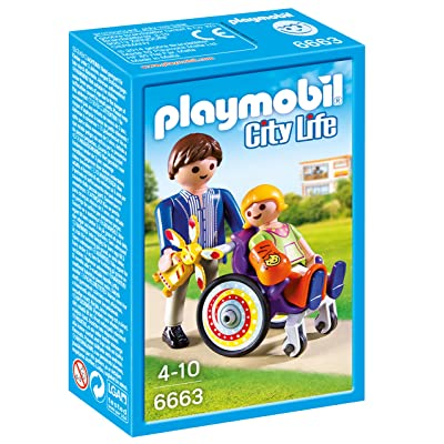 PLAYMOBIL Child in Wheelchair: Toys & Games