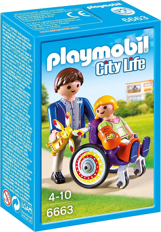 Playmobil Niño en Silla de Ruedas 6663