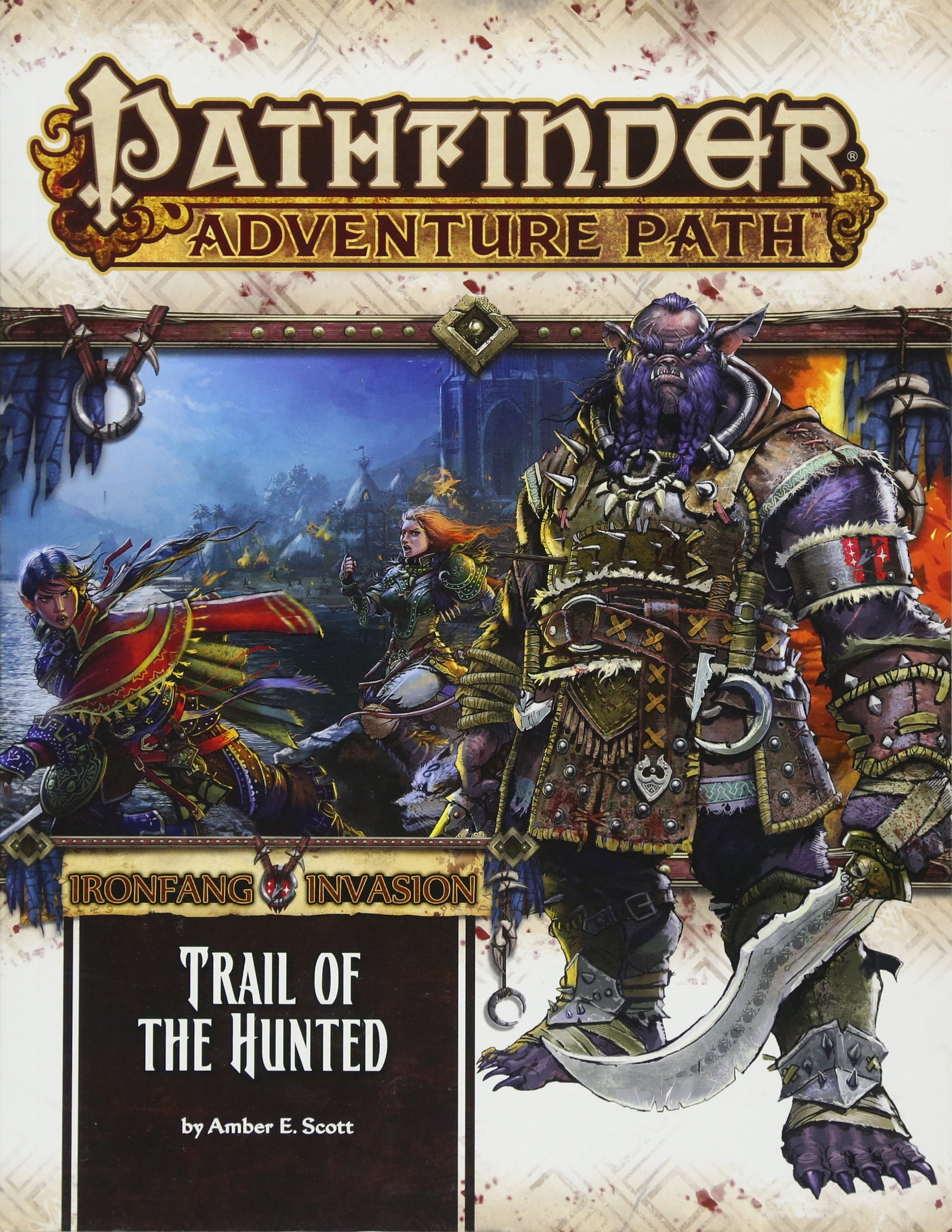 Read Online Pathfinder Adventure Path: Ironfang Invasion Part 1 of 6-Trail of the Hunted ebook