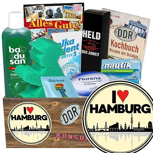 I love Hamburg / Hamburg Geschenke für Männer / Pflege Set