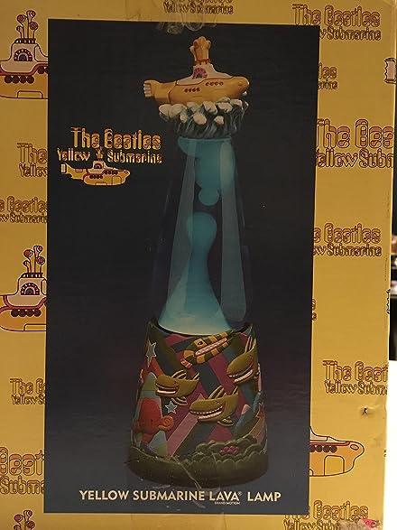 Beatles Yellow Submarine Lava Lamp