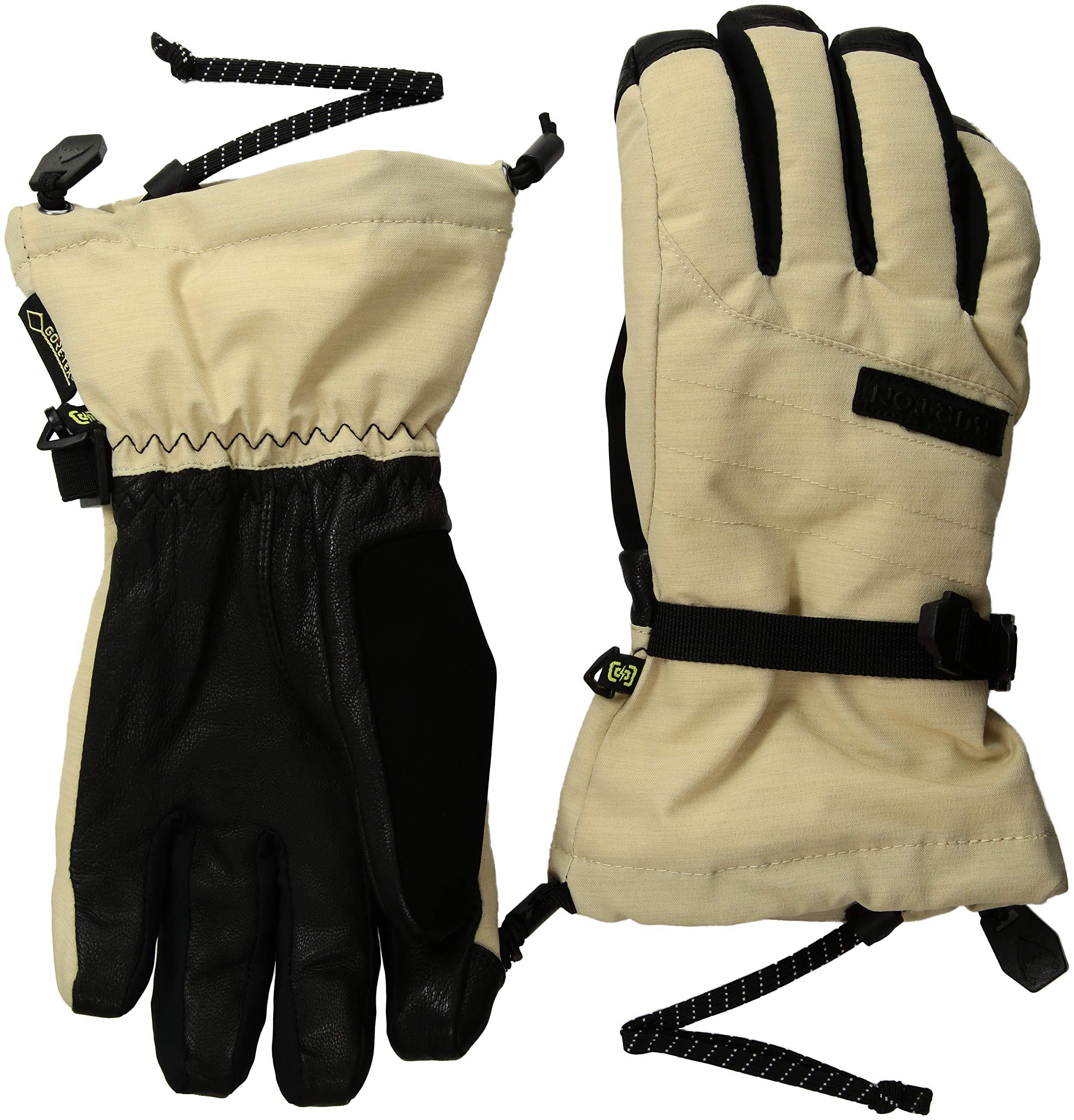 Burton Women's Deluxe Gore-tex Glove, Pebble Heather, Medium
