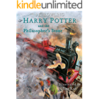 Harry Potter and the Philosopher's Stone: Illustrated [Kindle in Motion] (Illustrated Harry Potter Book 1) (English…