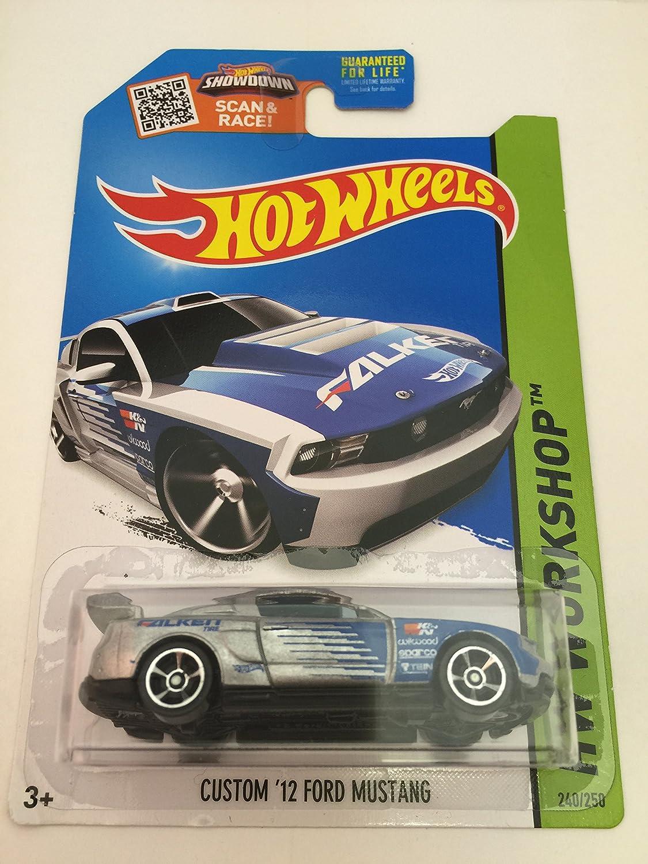 2015 Mustang Custom Wheels >> Amazon Com Hot Wheels 2015 Hw Workshop Custom 12 Ford