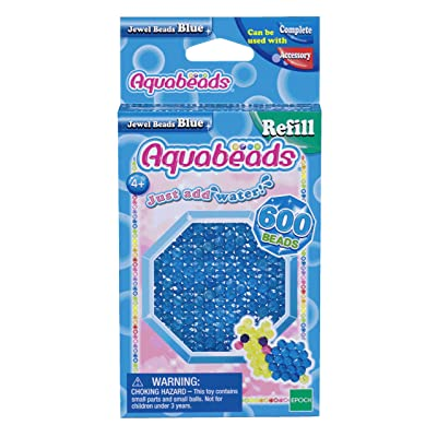 Aquabeads Jewel Bead Refill Pack, Blue: Toys & Games