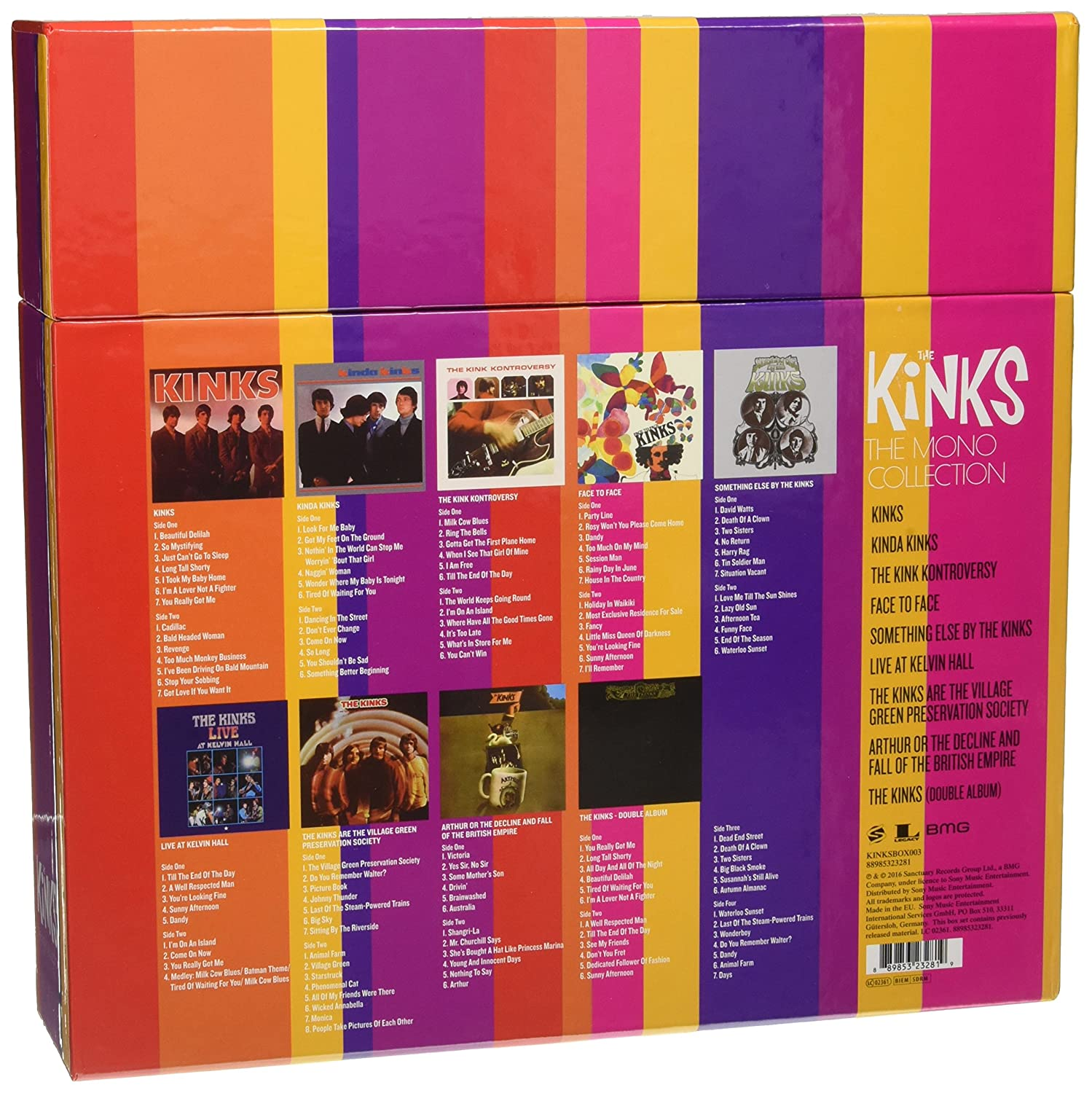 The Kinks - The Mono Collection (Limited Edition 1ecde1cfe