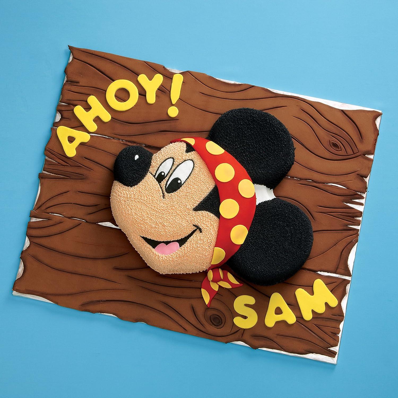 Amazon Wilton Aluminum Mickey Mouse Cake Pan Novelty Cake Pans