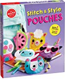 KLUTZ Stitch & Style Pouches Arts and Craft Kit
