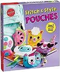 KLUTZ Stitch & Style Pouches