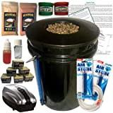 The Atwater HydroPod - DWC Deep Water Culture Garden System Kit - 5 Gallon Bubble Bucket - Bubbleponics - Nutrients & pH Test