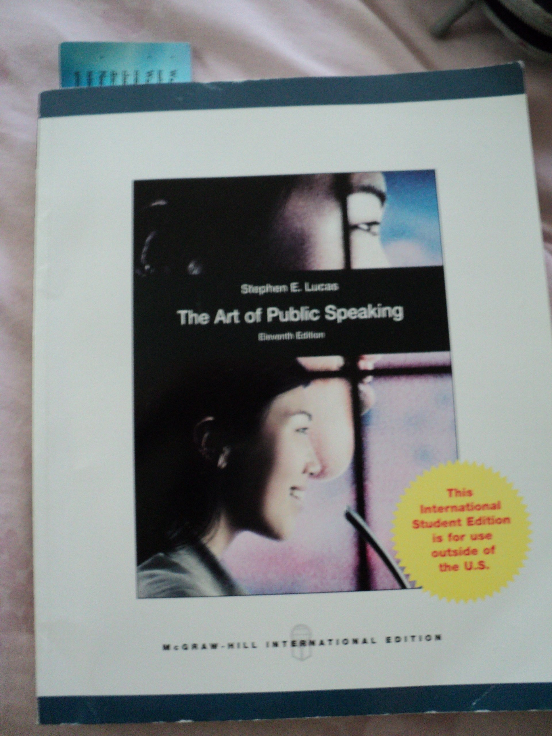 The Art Of Public Speaking 11th Edition Lucas Pdf