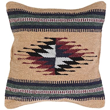 El Paso Designs Aztec Throw Pillow Covers, 18 X 18, Hand Woven in Southwest and Native American Styles. 3