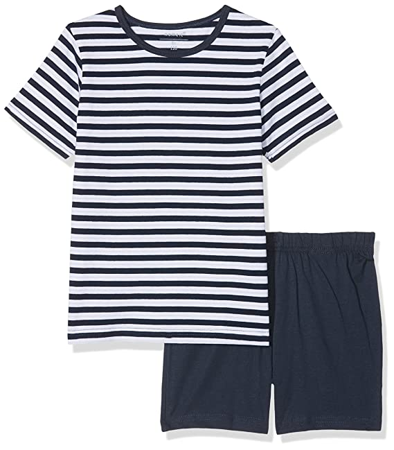 NAME IT Nkmnightset Dress Blues SS Shorts, Pijama para Niños: Amazon.es: Ropa y accesorios