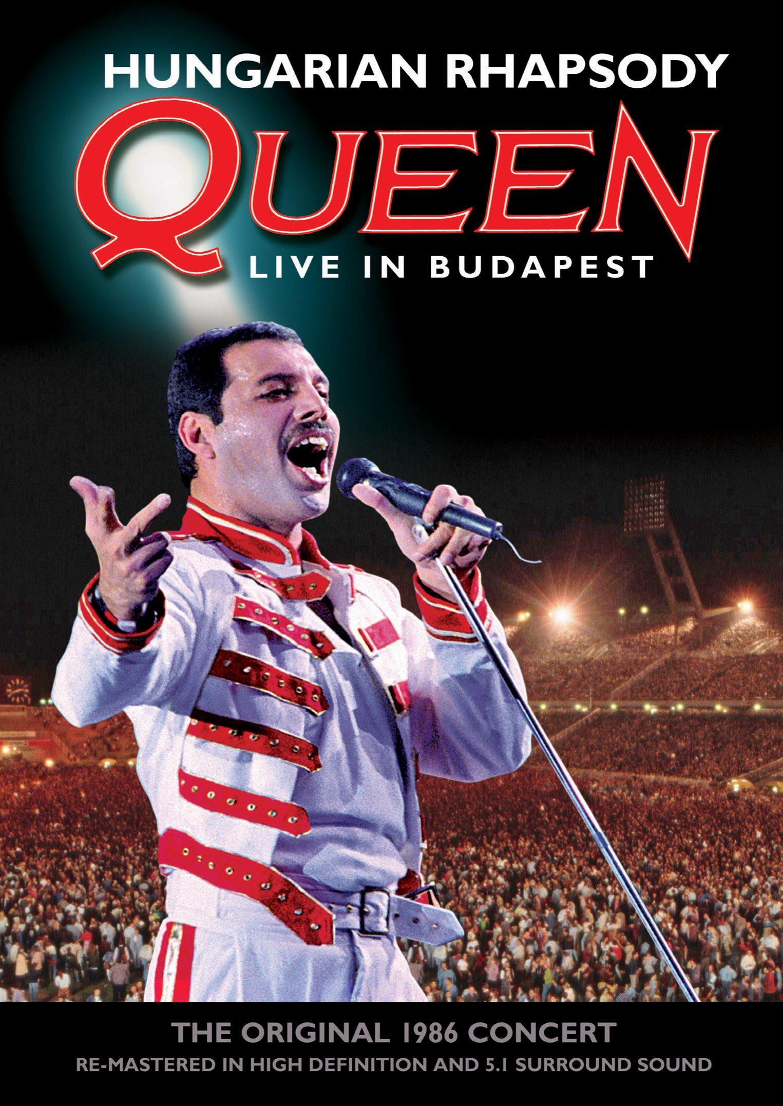 DVD : Queen - Hungarian Rhapsody: Queen Live in Budapest (DVD)