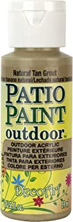 product image for DecoArt Patio Paint, 2-Ounce, Natural Tan Grout