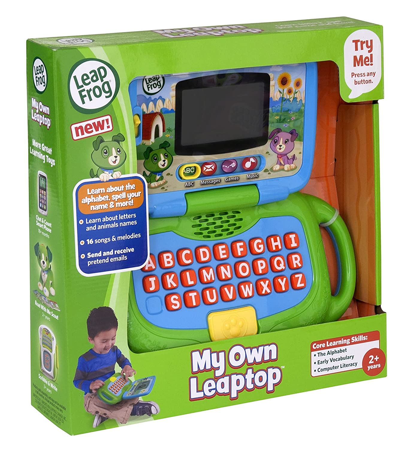 Buy Leapfrog My Own Leaptop Green line at Low Prices in India