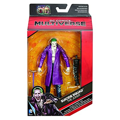 Mattel DC Comics Multiverse Suicide Squad The Joker Figure: Toys & Games