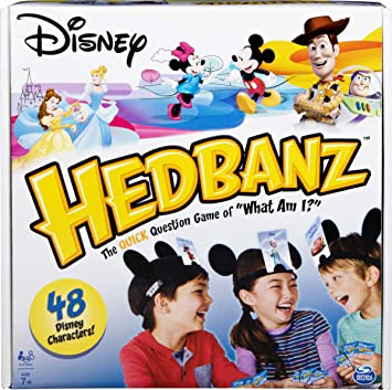 Buy Spin Master Games Disney Hedbanz Board Game Online At Low Prices In India Amazon In