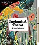 Scratch & Create: Enchanted Forest: 20 original art postcards